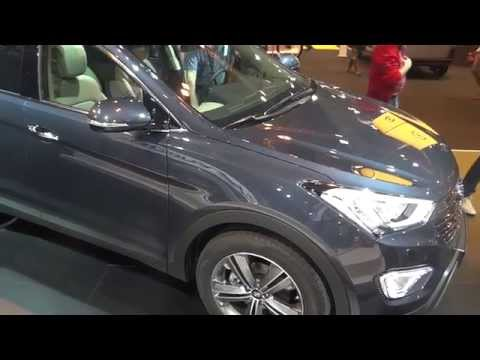 Hyundai Grand Santa Fe at Madrid Motor Show 2014 | AutoMotoTV