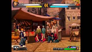 The king of fighters 98 live
