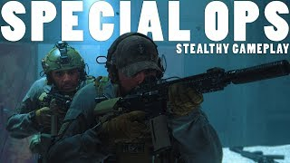 COD Modern Warfare SPEC OPS Stealth Gameplay