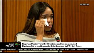 Emotions high in PE court as Zondi testifies in the Omotoso trial