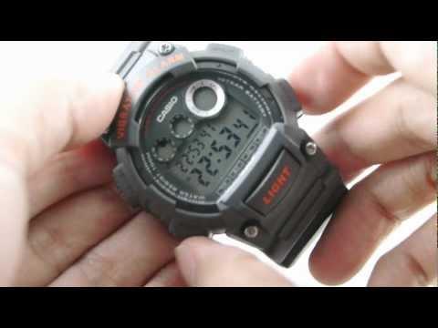 Review CASIO W-735H-8AVby www.siam-naliga