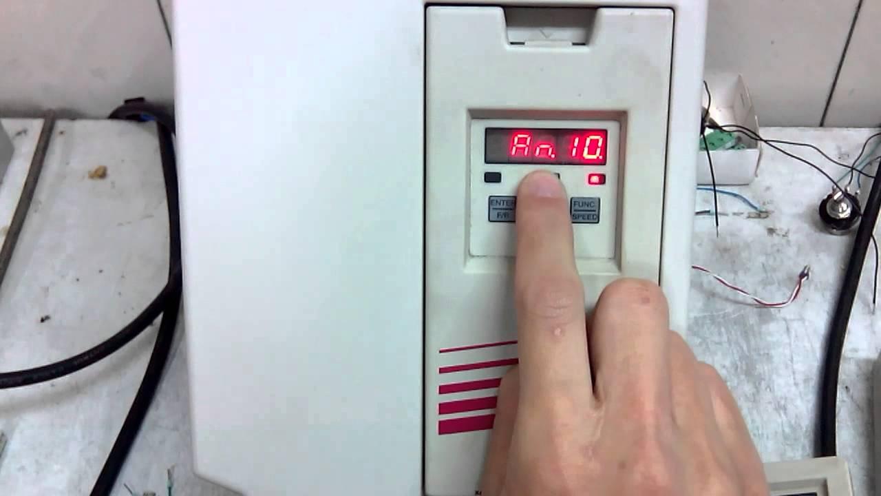 Change An11 for KEB F5 Inverter  YouTube