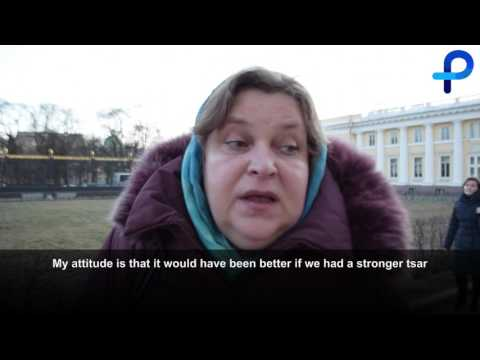 What do Russians think about the 1917 Revolution?