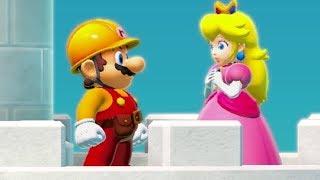 Super Mario Maker 2 - Story Mode Walkthrough Part 7 - Final Boss & Ending