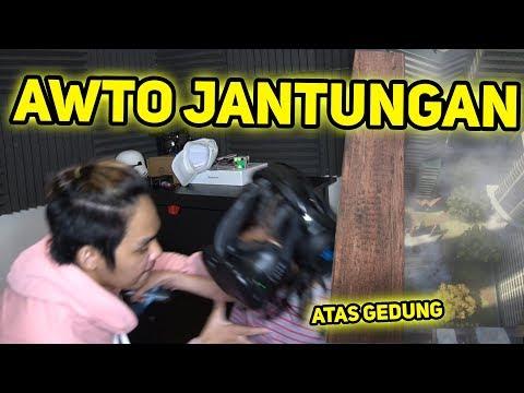 NGEPRANK BOCAH JATUH DARI ATAS GEDUNG!! - VR GAME
