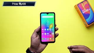 Tecno Spark Go First Look | Hands on | Price Rs 5,499 | [Hindi-हिन्दी]