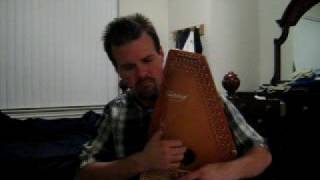Redwing on Oscar Schmidt Autoharp