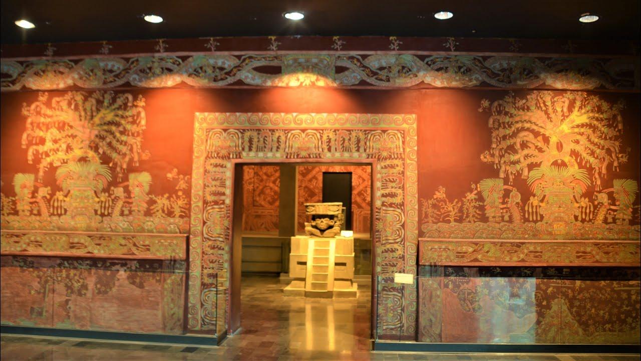 Mexico 76 メキシコシティ 國立人類學博物館 1 - YouTube