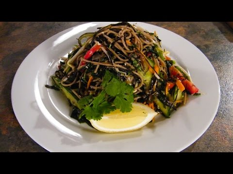 Great Vegetarian recipe ideas Seaweed and Soba Noodle Salad