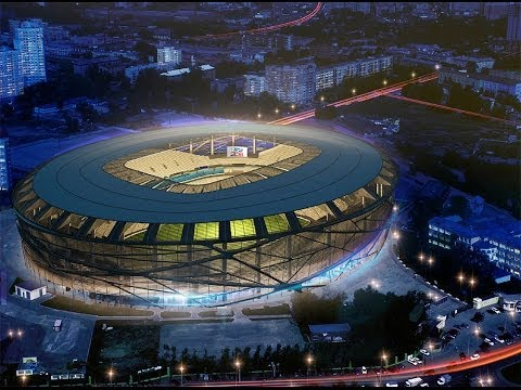 World Cup Russia 2018 - Beautiful Stadiums.Стадионы России 2018[HD]