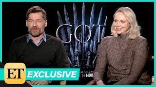 Game of Thrones Season 8: Gwendoline Christie & Nikolaj Coster-Waldau Are Shocked To Still Be Alive