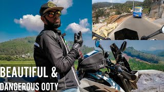 Beautiful And Dangerous Ooty Roads - Ooty Vlog Part 2 | Duke 250 | Chennai -Ooty | Enowaytion Plus