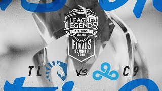 TL vs. C9 | Finals Game 2 | NA LCS Summer Playoffs | Team Liquid vs. Cloud9 (2018)