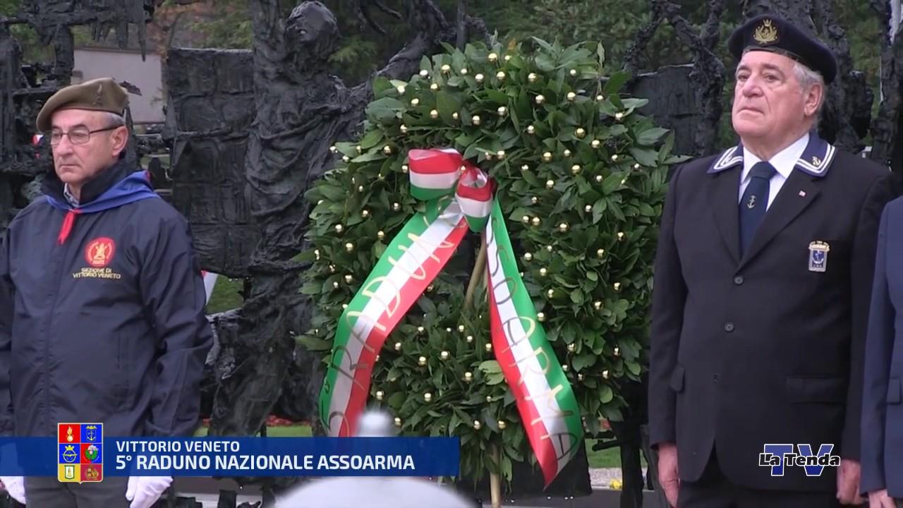 5° Raduno Nazionale Assoarma - Vittorio Veneto - Alzabandiera