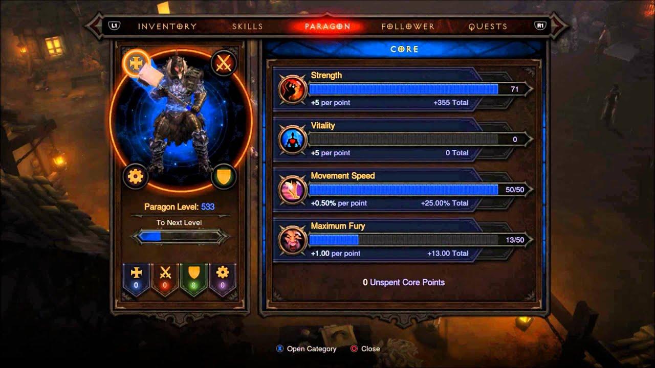 Diablo  Xbox  Builds Barbarian