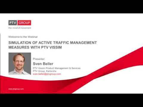 Webinar: Simulation of Active Traffic Management measures wi