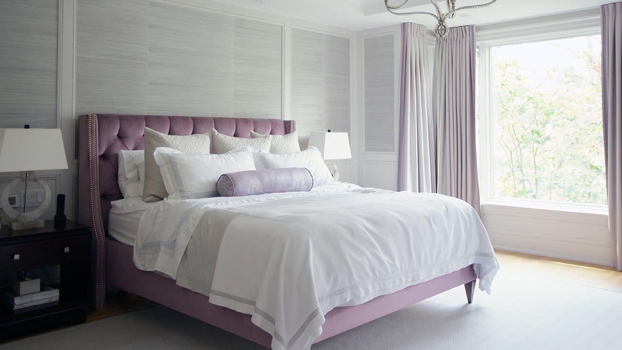 Interior Design — Luxurious Bedroom & Bathroom Design - YouTube