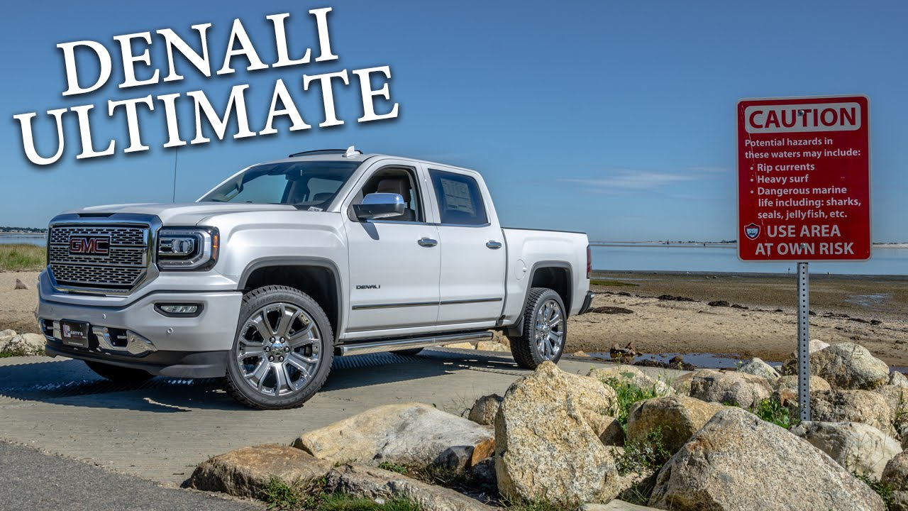 2017 GMC Sierra Denali Ultimate   Quick Look    YouTube