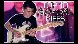 Top 10 Paramore Riffs w/ Tabs