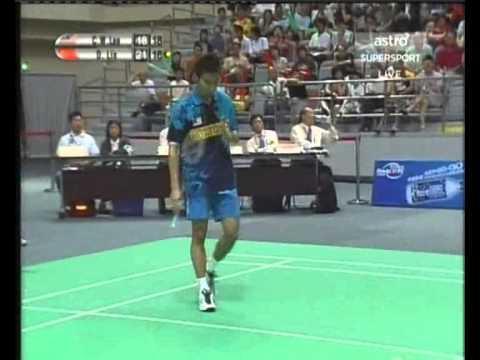 2006 macau open ms f lin dan v lee chong wei