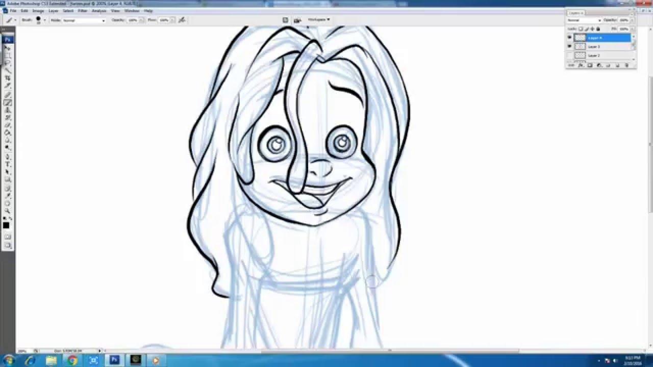 Uncategorized Tarzan Drawing how to draw tarzan boy from walt disneys youtube