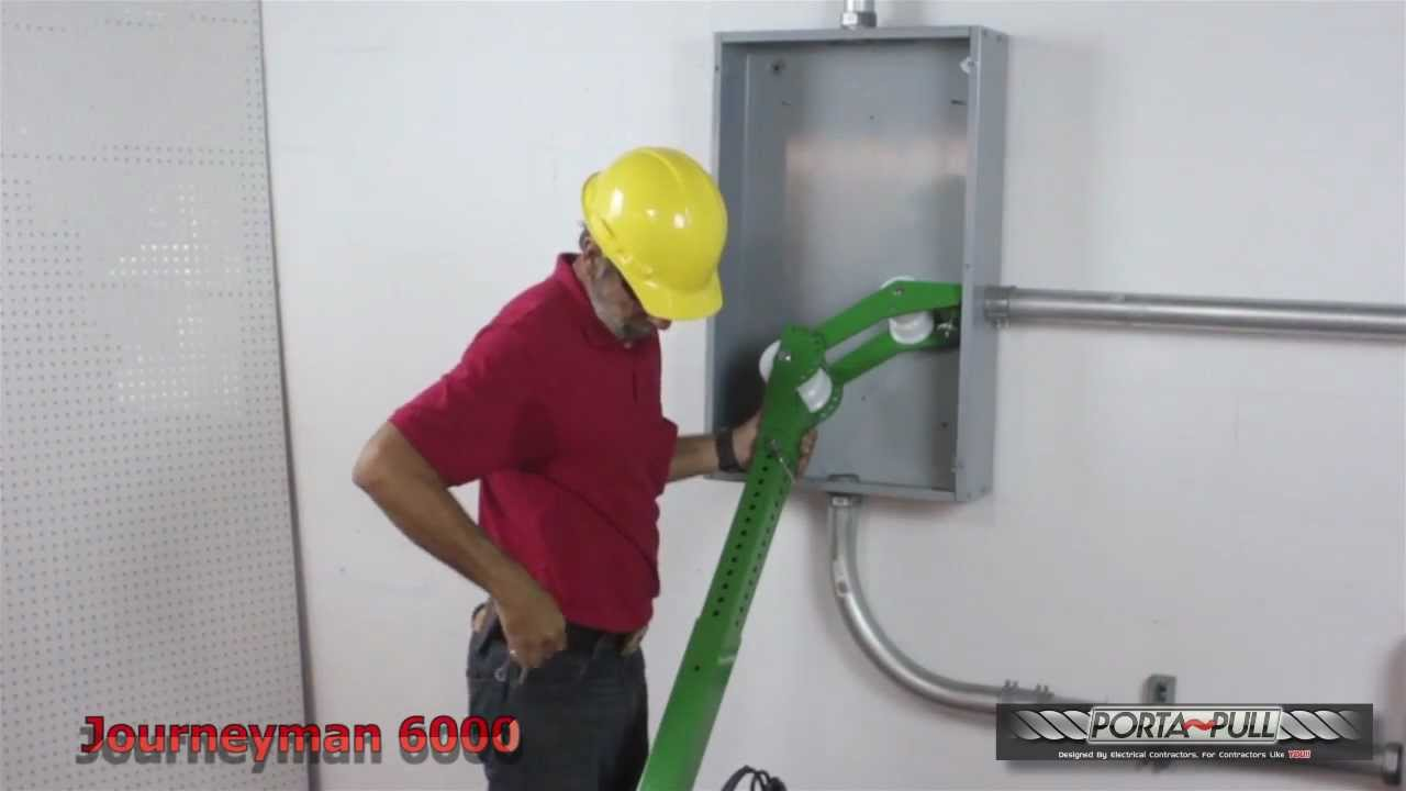 JourneyMan 6000 Cable Tugger-Wire Puller - YouTube