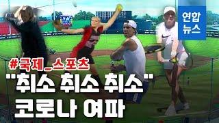 팬데믹 영향…전세계 '스포츠 경기' 속속 연기·중단 /…