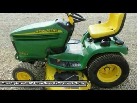 2004 John Deere Gx255 Minier Springfield Bloomington And Peoria Il