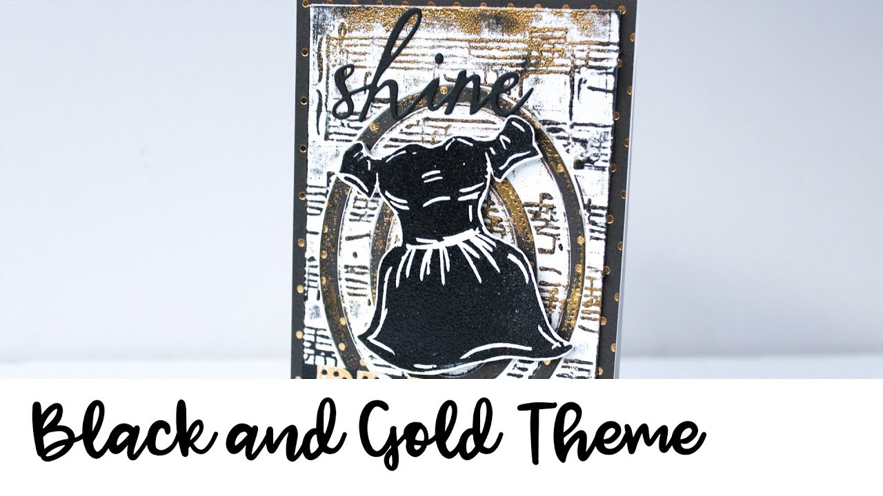 Make a Girls Night Out Theme Card with VersaFine Clair - YouTube