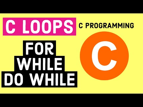 C Loops - For, While, Do While, Looping Statements with Example