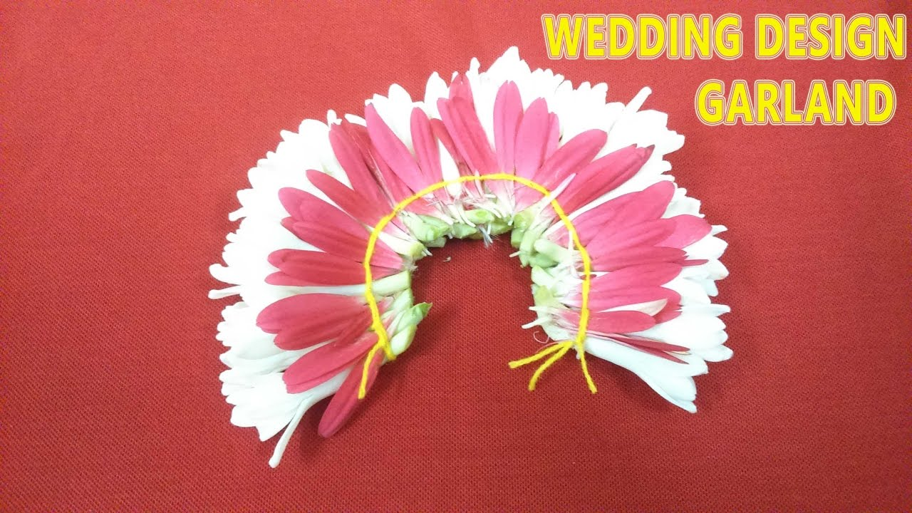 make your own wedding garland