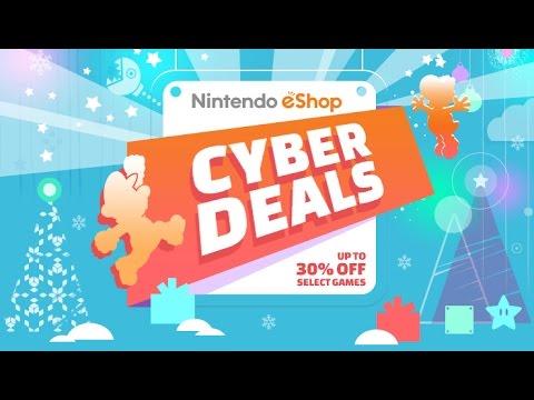 Cyber desconto no eShop do 3DS e Wii U