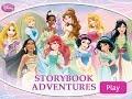 Disney Princess StoryBook Adventures - Story Games Online - HD