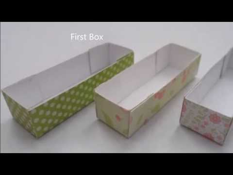 Papercraft DIY Mini Macaroon and Truffle Box for Polymer Clay