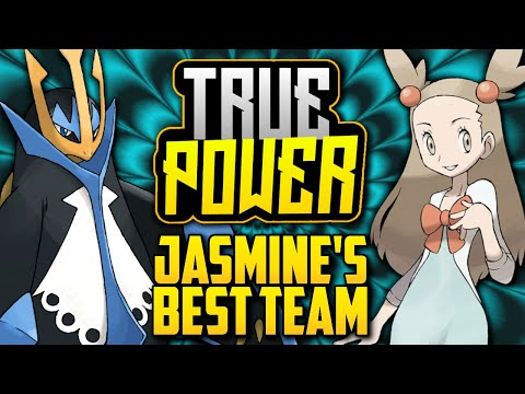 WHAT IS JASMINE'S BEST POSSIBLE TEAM!? Gym Leader Jasmine's Evolution In Pokémon Games [TRUE POWER]