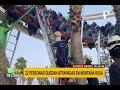 Montaña rusa 22 personas quedan atrapadas a seis metros de altura por 90 minutos mp3