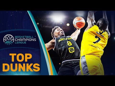 The BEST DUNKS from ALL 32 TEAMS! - Basketball Champions League 2018-19
