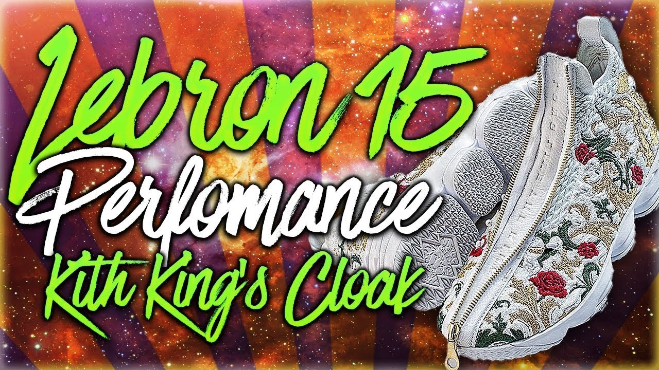wholesale dealer 0d13f 592ec LeBron 15 Performance KITH