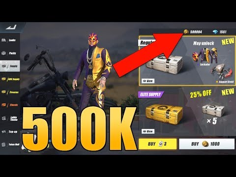 Rules of Survival  - HOW I SPENT 500,000 GOLD!