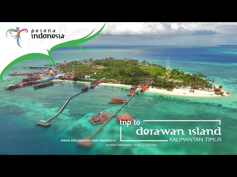 Derawan Island - Trip to derawan a Story Moment 2016 HD 720p | UJS tv pariwisata