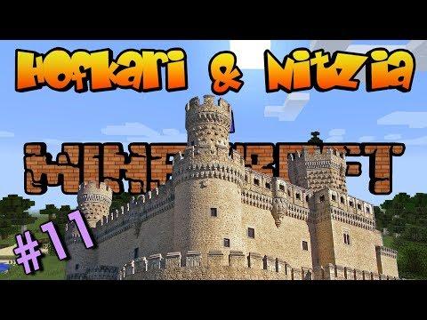 Hofkari & Nitzia en Minecraft - Fortaleza impenetrable! Ep  #11