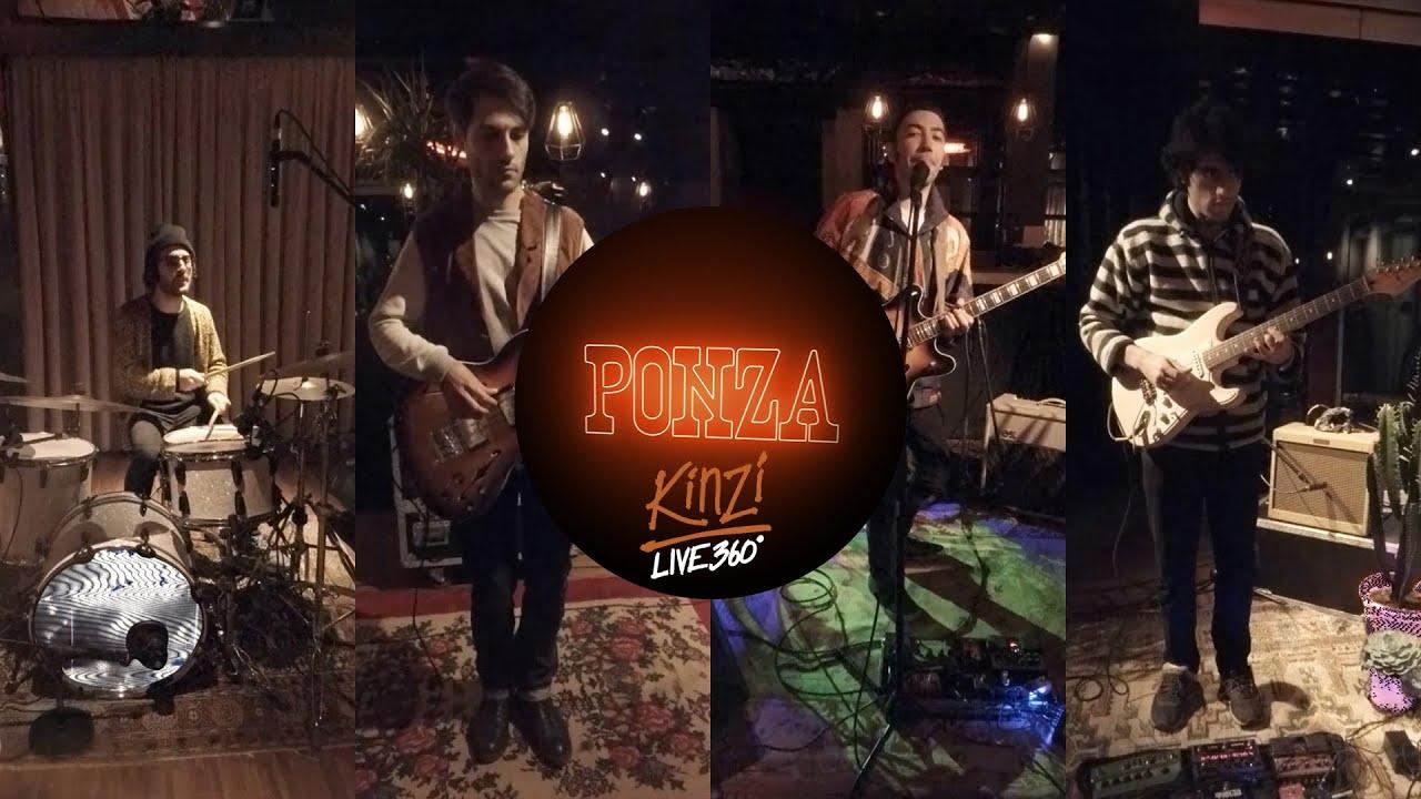PONZA - Kinzi  (Official Live 360 Video)
