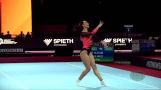 Abdul Hadi Farah Ann  Mas  - 2019 Artistic Worlds, Stuttgart  Ger  - Qualifications Floor Exercise