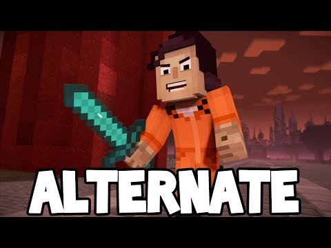Minecraft Story Mode: Season 2 - Episode 5 - ALTERNATE ENDING! #1