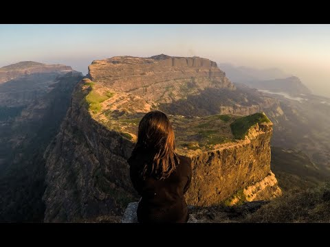Alang Madan Kulang (AMK) - One of the TOUGHEST treks in Maharashtra |(Part I) | GoPro India 2017