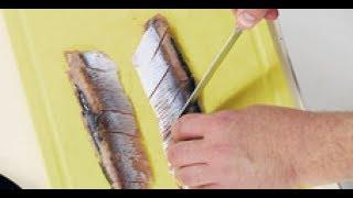 Как красиво нарезать селёдку / мастер-класс от шеф-повара / Илья Лазерсон / Обед безбрачия
