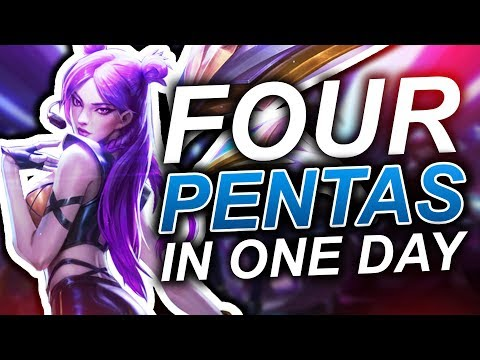Gosu - Four Pentas in one day!