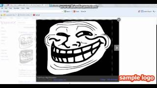 how to get troll face into paint