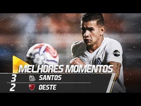Santos 3 x 2 Oeste | MELHORES MOMENTOS | Paulistão (02/03/19)