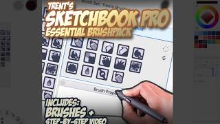 Trents ESSENTIAL brushes 2017 tour (Sketchbook pro)